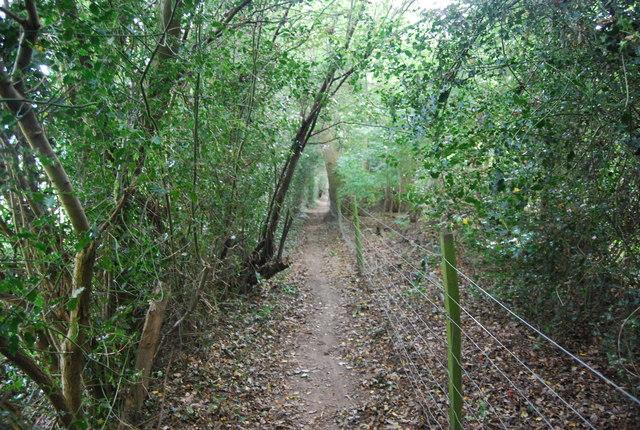 Tunbridge Wells Circular Path - between Bullingstone Lane & Speldhurst
