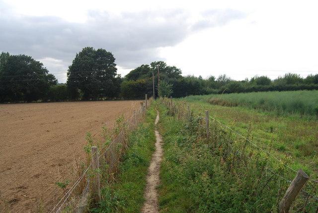 Tunbridge Wells Circular Path  west of Speldhurst