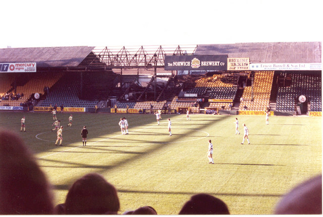 Main Stand, Carrow Road