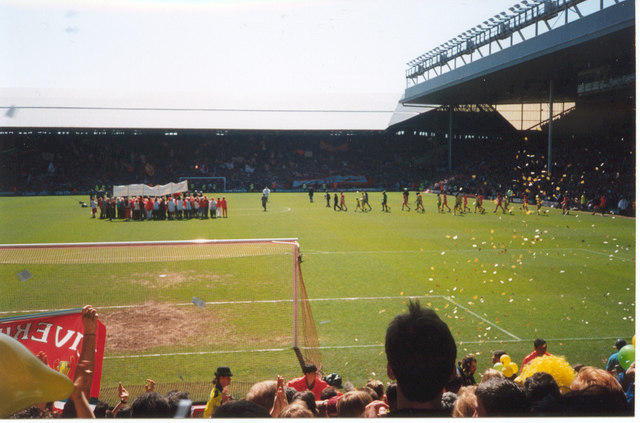 The Kop - Last Game as a Standing Terrace