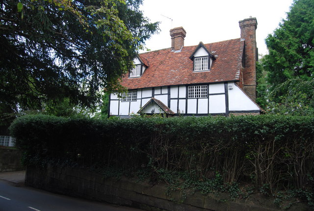 Half timbered house, Speldhurst