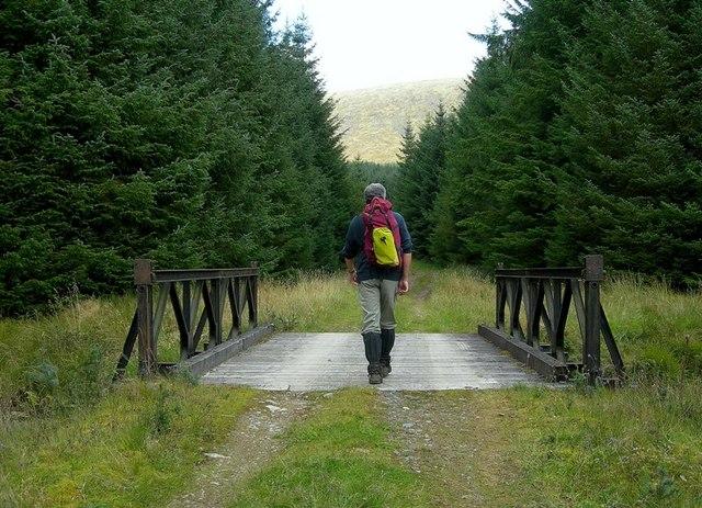 Crossing The Kirreoch Burn
