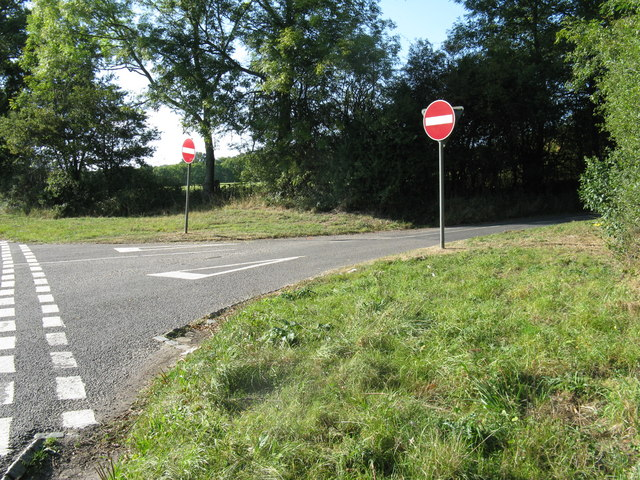 No entry to short cut to the A 29