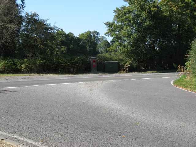 Junction of Rowhook Road and the A29