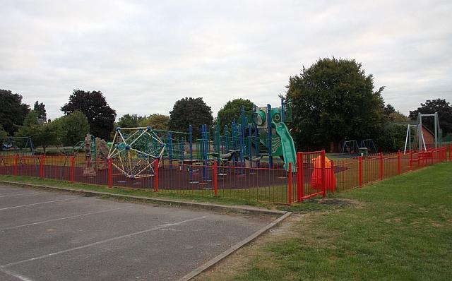 Children's play area, Victoria Park, Malvern Link