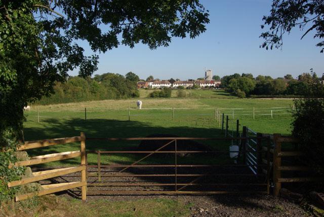 Fields west of Long Lawford