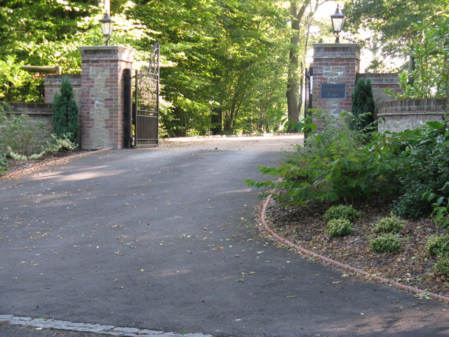 Gateway to Maplewood House off Rowhook Road