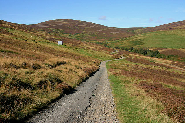 An access road on the Bowland Estate