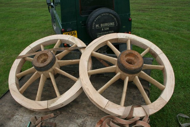 Wheels on the trailer