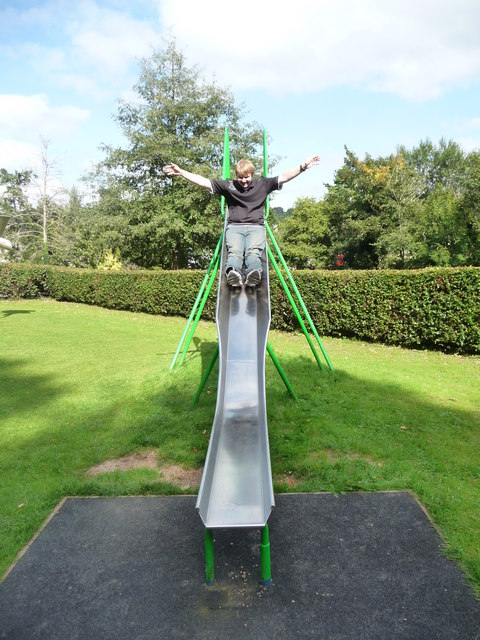 Dulverton : Slide in the Playground