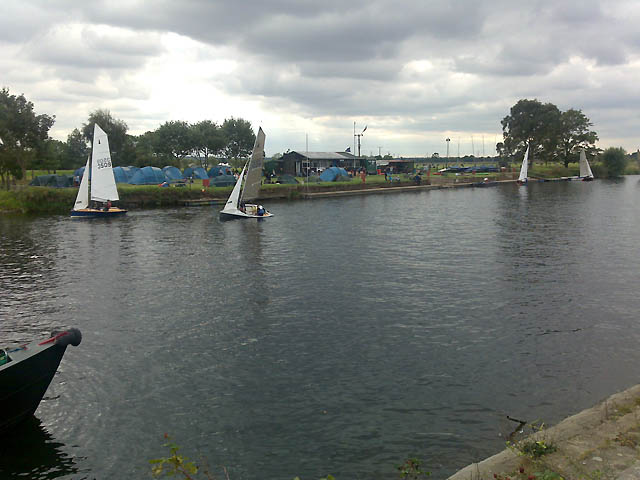 Sailing On the Trent