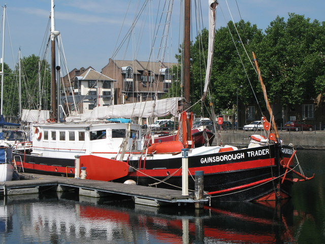 The Gainsborough Trader in South Dock