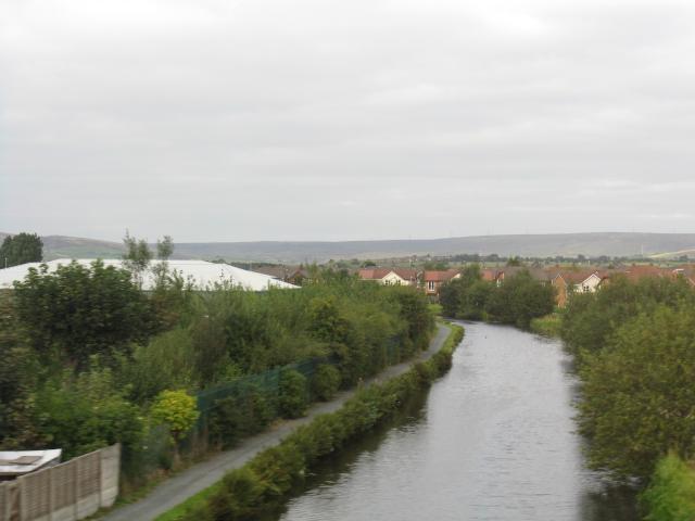 Rochdale Canal At Newbold