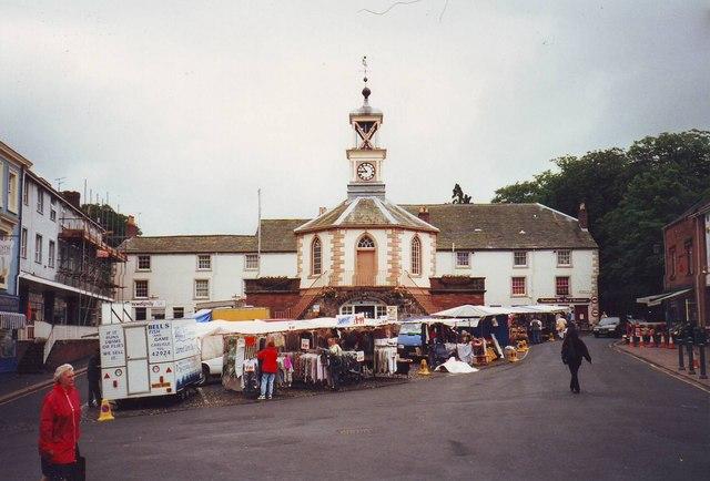 Brampton market place, Cumbria