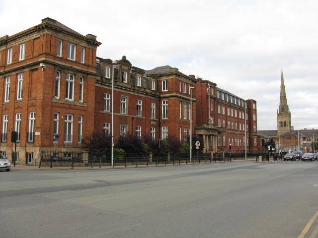 Former Salford Royal Hospital