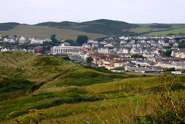 Woolacombe from Potter's Hill