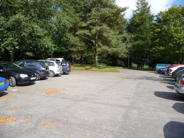Exmoor : Tarr Steps Car Park