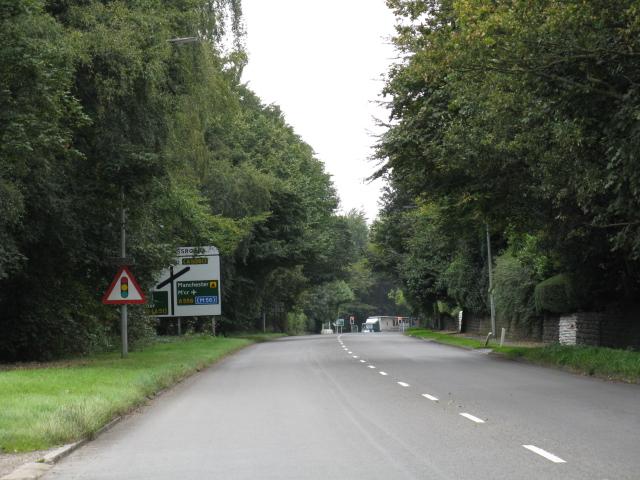 Mere Crossroads - Advance Signage, A50