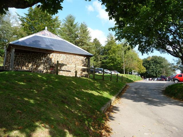 Exmoor : Tarr Steps Car Park & Public Toilet