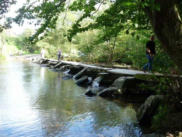 Exmoor : Tarr Steps & River Barle