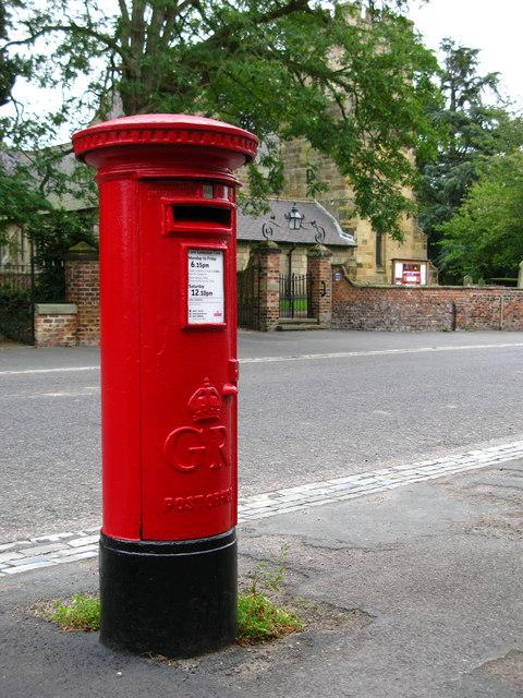 GR Pillar Box, Sowerby