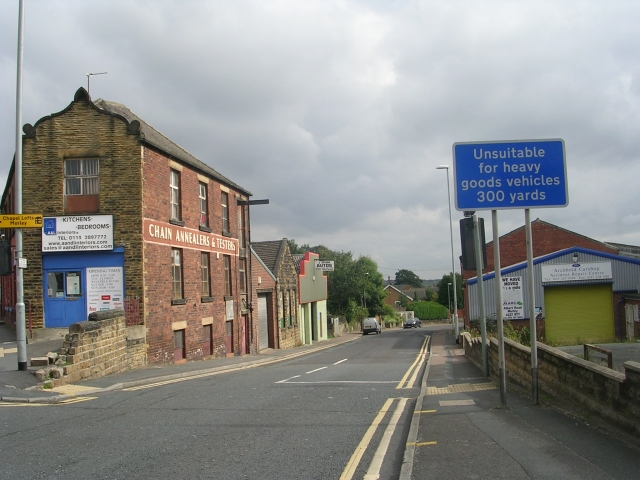 Wide Lane - viewed from High Street