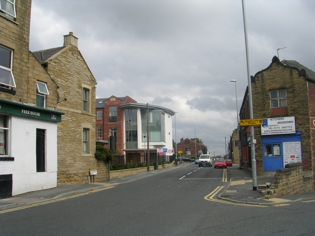 Middleton Road - viewed from High Street