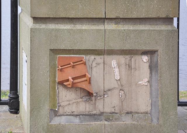 Vandalism -  Cardiff Bay