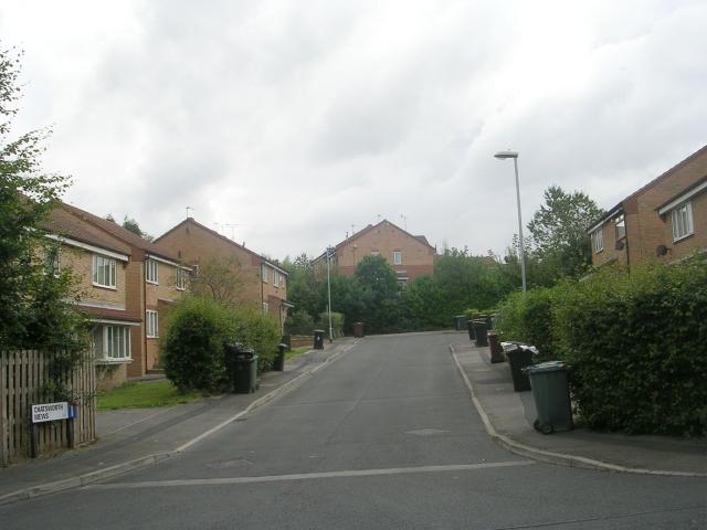 Chatsworth Mews - Wide Lane