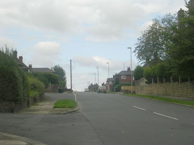 Clough Street - Wide Lane