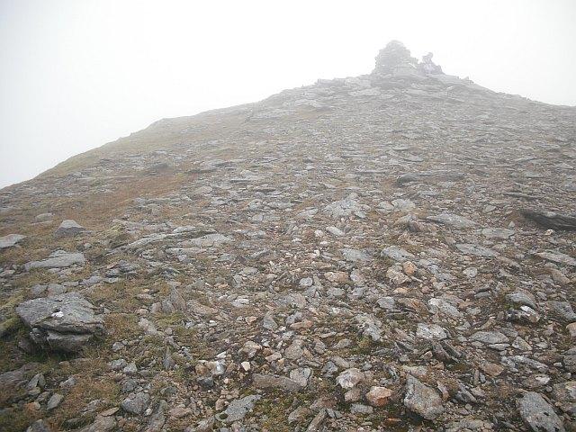 Summit, Beinn a' Chreachain