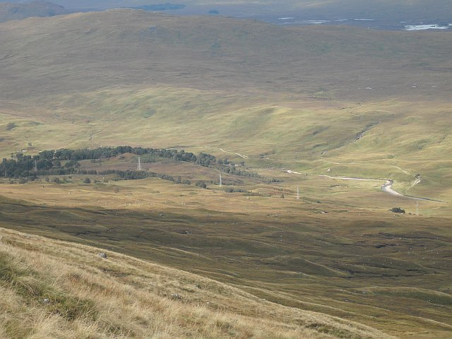 Slopes of Beinn a' Chreachain
