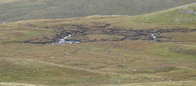 Bog under Dùn Laoghan
