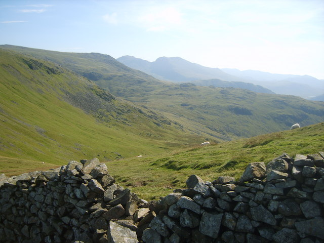 Looking towards the Scafells