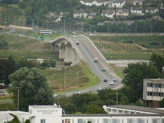 Barnstaple Taw Bridge (A361)