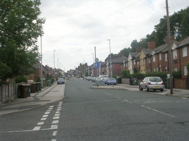 Middleton Road - viewed from Clough Street