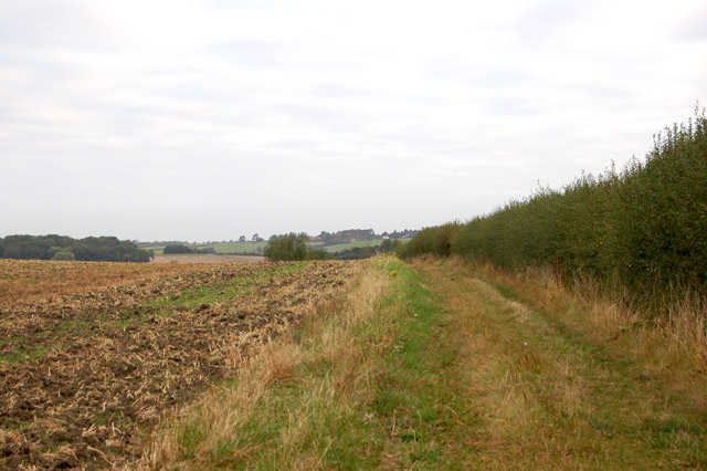 Footpath from Woolscott to Whitehall Farm (1)