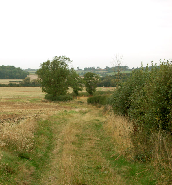 Footpath from Woolscott to Whitehall Farm (2)