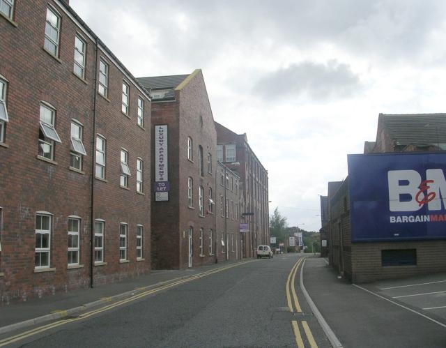 Commercial Street - viewed from Peel Street