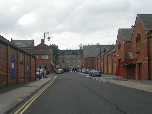 Peel Street - viewed from Commercial Street