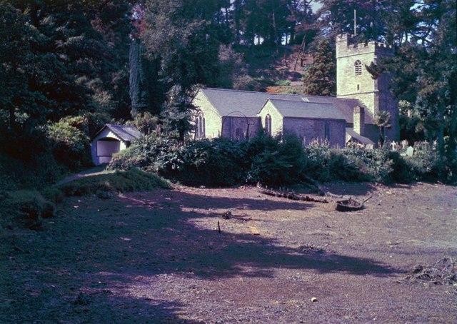 Church at St Just - 1962