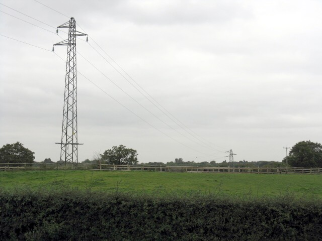 Power Lines At Meadowlands