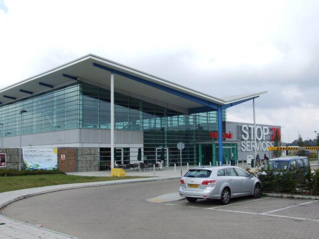 Folkestone Services, M20, Kent