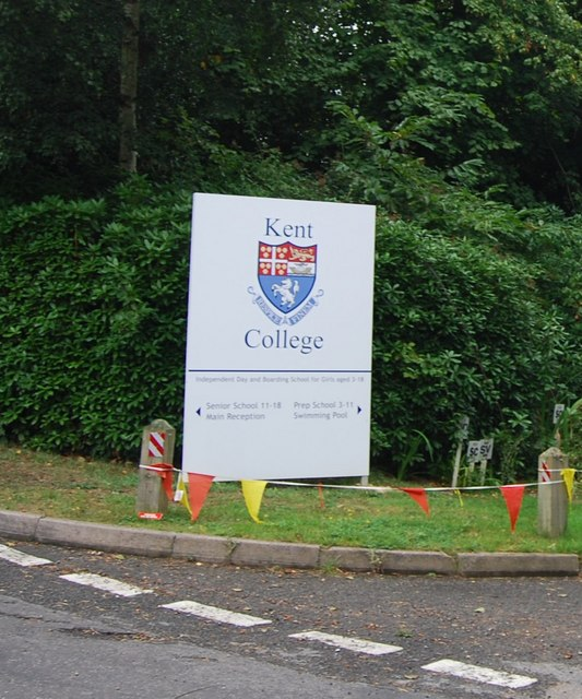 Kent College Sign