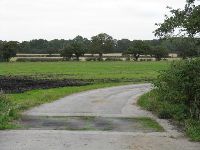 Entrance To Blackshaw Heys Farm
