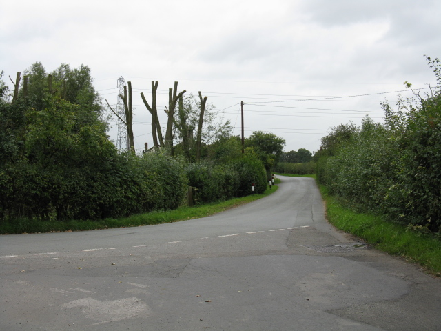 Wood Lane From Breach House Lane