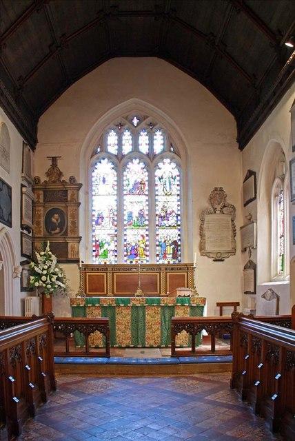 St Mary, Monken Hadley, Herts - Chancel