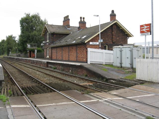 Mobberley Station - Chester Side