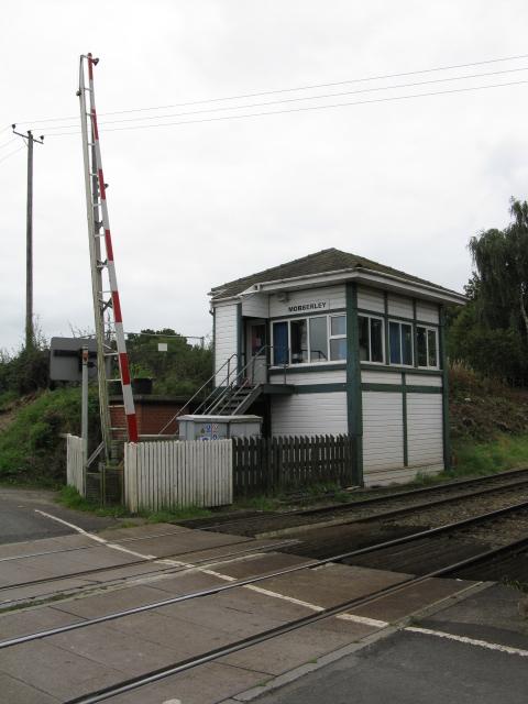 Mobberley Signalbox