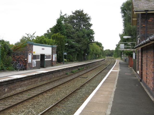 Mobberley Station